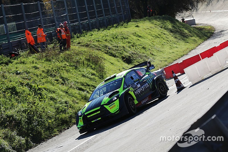 Monza Rally Show, PS7: Valentino firma anche