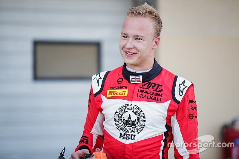 Mazepin earns F2 promotion with ART
