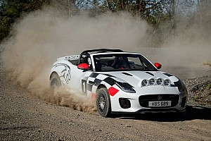 В Jaguar сделали раллийный кабриолет F-Type в память о гоночной машине 40-х