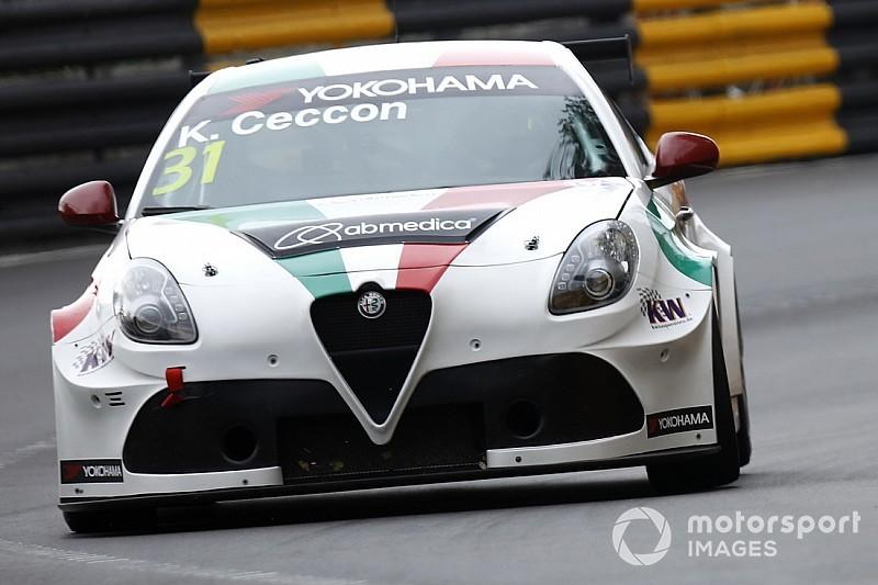 Ceccon affianca Ma Qing Hua, Coronel e Lester nei test Alfa Romeo a Vallelunga