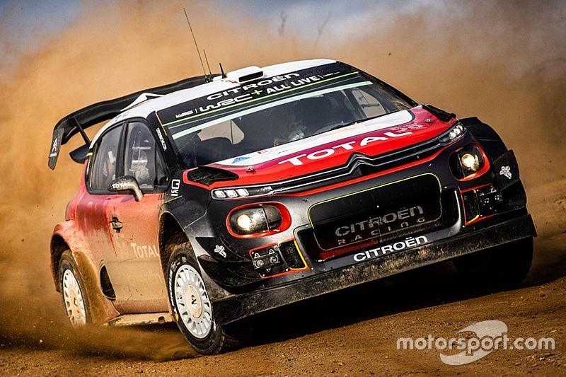 Photos - Sébastien Ogier au volant de la Citroën C3 WRC
