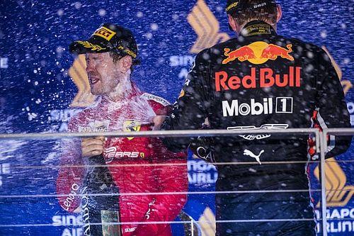 Verstappen staat open voor komst Vettel, Horner sluit deal uit