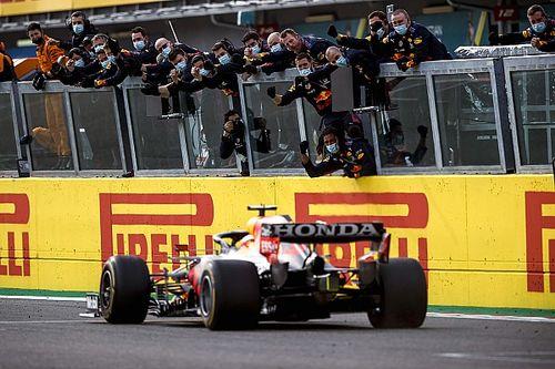 F1エミリア・ロマーニャGP決勝:波乱もなんのその。フェルスタッペン完勝で今季初勝利。角田は受難の週末に