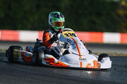Matheus Ferreira é vice-campeão do WSK Super Master Series na categoria OK Júnior