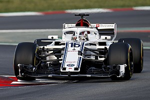 Formula 1 Analisi Sauber: è stata strumentata l'ala anteriore della C37 di Leclerc