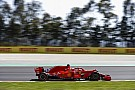 Hamilton sospecha que Ferrari redujo su ritmo el viernes en España