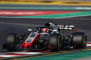 Formel 1 Reaktion Haas lässt aufhorchen: Grosjean bremst gut, Magnussen gibt Gas