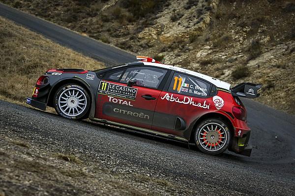 WRC Actualités Breen a essayé de faire abstraction du Tour de Corse, sans succès