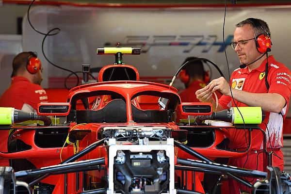 Formule 1 Actualités Ferrari a retiré les ailettes de ses rétroviseurs