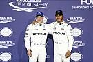 """Hamilton elogia volta de Bottas no Q3: """"Ótimo trabalho"""""""