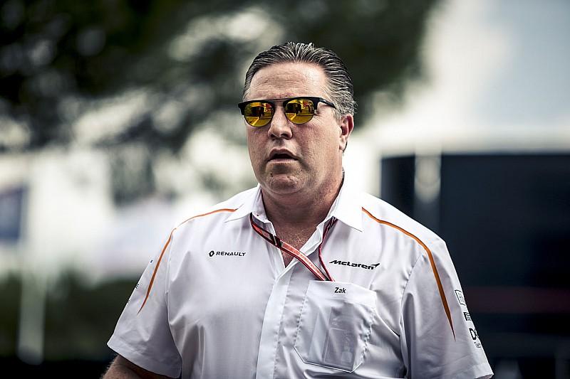 Зак Браун связал проблемы McLaren с нестабильностью внутри команды