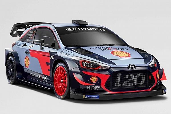 Hyundai dévoile son i20 Coupe WRC 2018