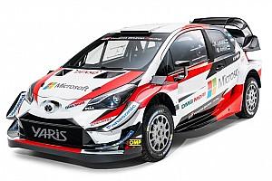 WRC Ultime notizie Toyota ha presentato la Yaris WRC 2018 con le novità aerodinamiche
