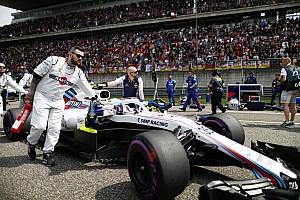 Williams втрачає секунду на колі через проблеми з охолодженням