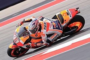 MotoGP Отчет о квалификации Маркес упал, но все равно завоевал шестой подряд поул в Остине