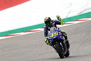 Probleme mit dem Vorderreifen: Rossi ohne Podestchance