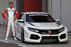 La nouvelle Honda Civic Type-R TCR en piste