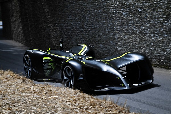 Roborace Breaking news Roborace car completes Goodwood hillclimb