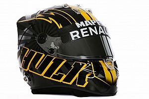 F1 Noticias de última hora Nico Hulkenberg presume su nuevo casco en redes sociales