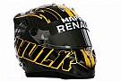 Nico Hulkenberg presume su nuevo casco en redes sociales