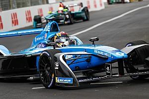 Formule E Actualités Buemi n'a pas pu utiliser l'énergie qu'il avait économisée