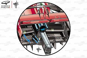 Formula 1 Analysis The secret behind Ferrari's floor tunnels