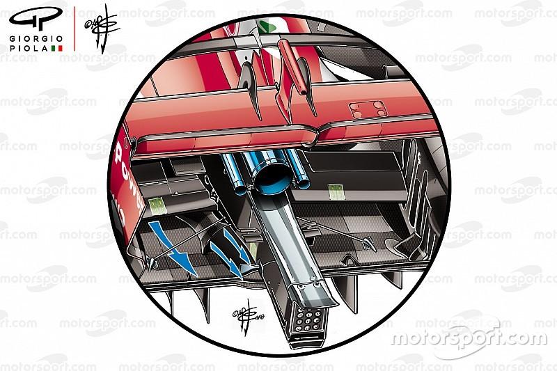 Теханаліз: секрет Ferrari у хвості боліда SF71H