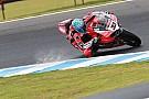 Melandri verslaat Kawasaki, Van der Mark P9 in seizoensopener