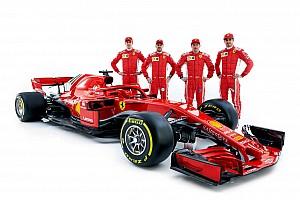 F1 Noticias de última hora Kvyat y Giovinazzi también estuvieron en la presentación del Ferrari SF71H