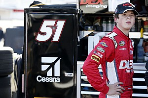 NASCAR Truck Breaking news Harrison Burton hopes to do a
