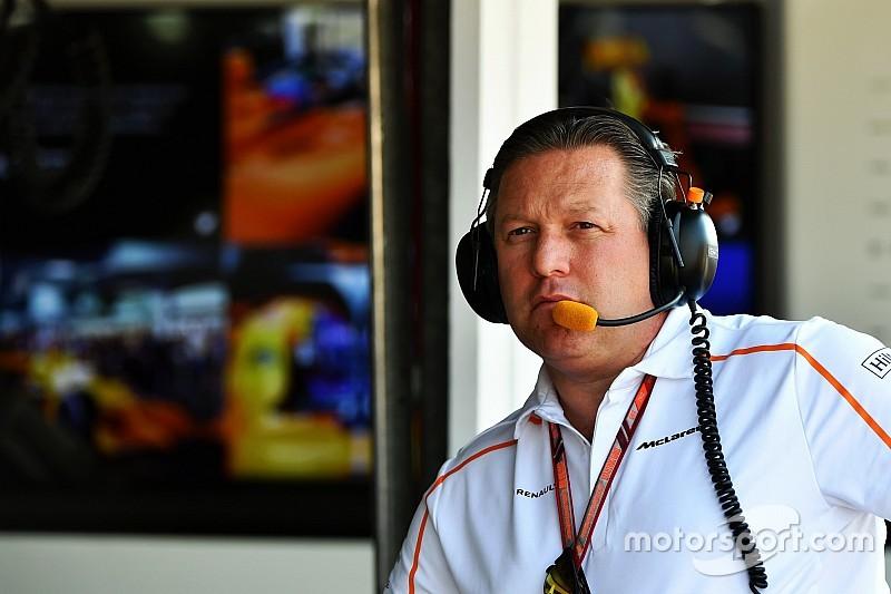 Brown: McLaren cumpriu cota de patrocínios em 2018