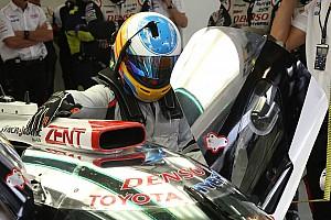 WEC Reporte de pruebas Alonso se estrenó con el Toyota LMP1 del WEC en Bahrein