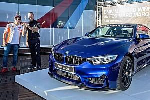 MotoGP Новость Маркесу подарили новую BMW. Теперь у него их пять