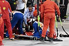 Ferrari mechanic suffers broken leg in Raikkonen incident