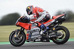 MotoGP Reaktion Zu viel Wind, zu wenig Grip: Dovizioso und Lorenzo abgeschlagen