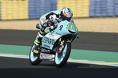 Moto3 Le Mans: Bastianini rapste in frisse warm-up