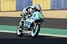 Moto3 Moto3 Le Mans: Bastianini rapste in frisse warm-up