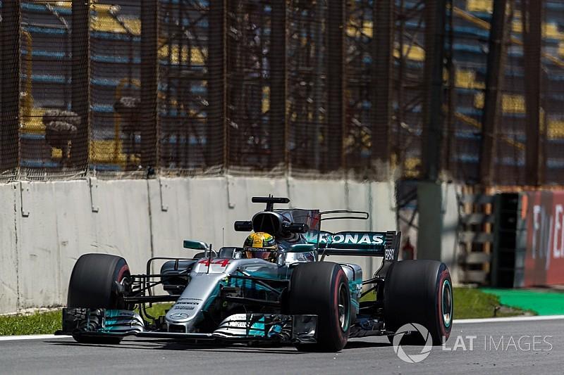 Hamilton lidera dobradinha da Mercedes no TL2 em Interlagos