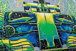 Гоночное художество. Что рисовали на трассах Ф1 в сезоне-2017