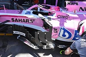 TECHZÓNA Elemzés Közelebbről a Force India új aerodinamikai csomagja: elemzés