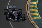 F1開幕! FP1はハミルトンが首位。マクラーレンまたもトラブル!?