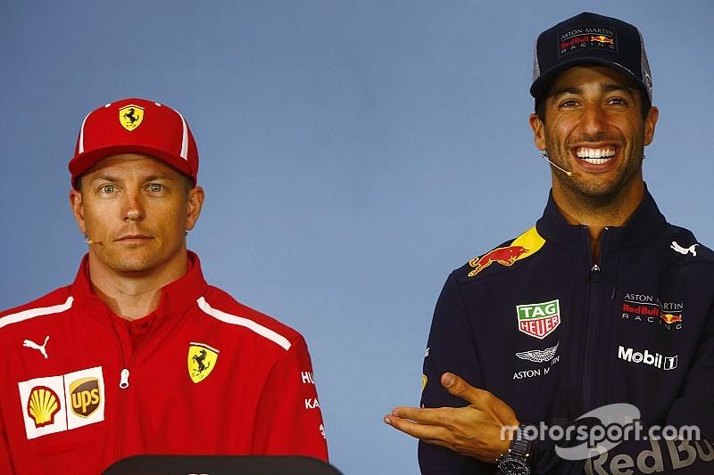 Ricciardo surpris que Räikkönen reste en F1