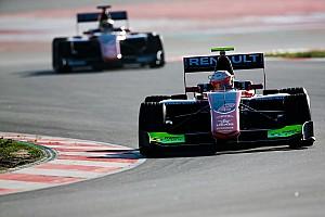 Hubert leads ART 1-2-3 on final GP3 test day