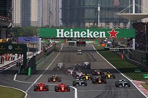 F1确定2019赛季各场开赛时间