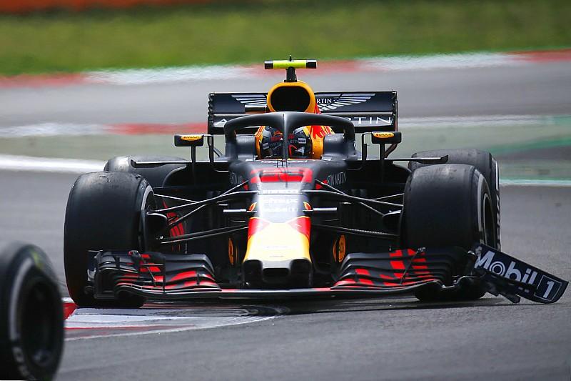 У Red Bull швидко відмовилися від заміни зламаного антикрила на машині Ферстаппена