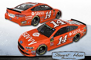 NASCAR Cup Breaking news Stewart-Haas Racing unveils new sponsor for Clint Bowyer