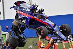 Formule 1 Réactions Hartley: