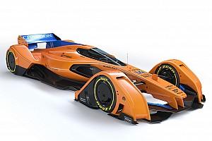 Formula 1 Top List Gallery: McLaren updates F1 future concept, the X2