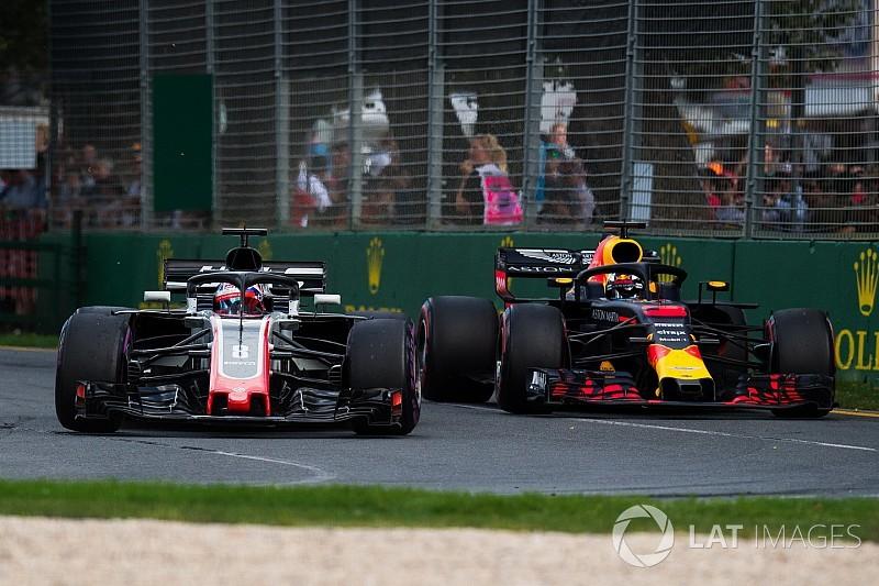 Grosjean: Haas yavaş olunca sorun yok, hızlı olunca