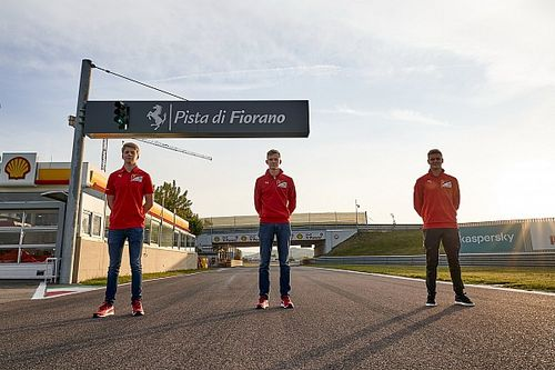Ferrari: A közelgő FP1-es beugrások nem szétlövések lesznek a juniorok számára (galériával)